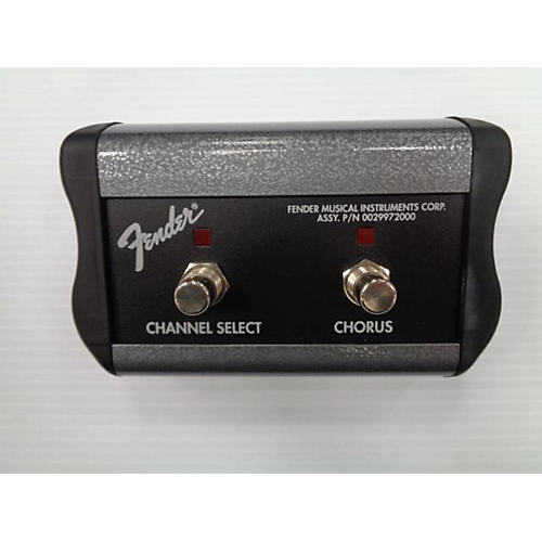 used fender two button channel switch pedal guitar center. Black Bedroom Furniture Sets. Home Design Ideas