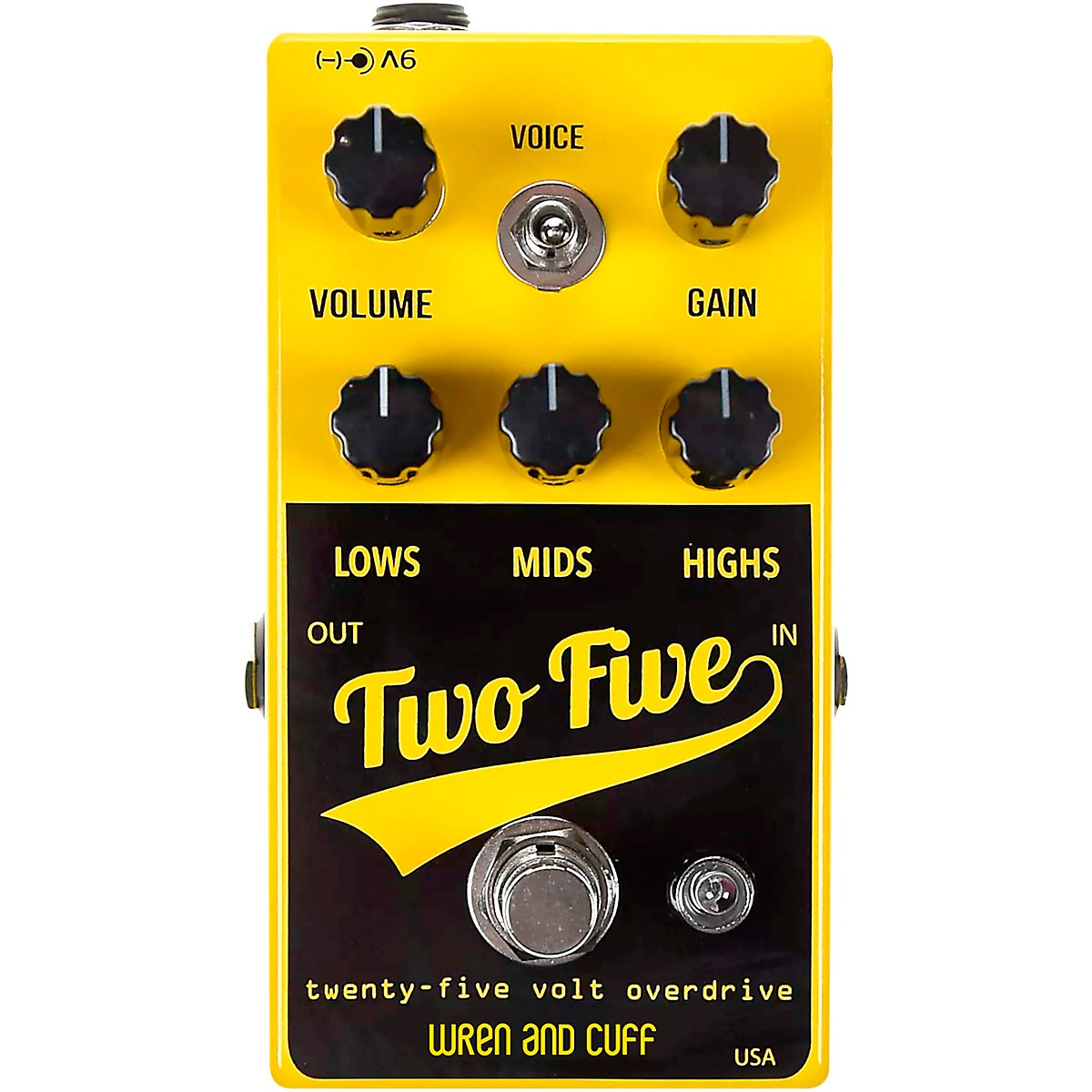 Wren And Cuff Two-Five 25V Drive-Boost Effects Pedal