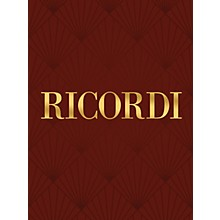 Ricordi Two Part Inventions It/Sp/Pr Critical Edition Piano Large Works by Bach Edited by Bruno Mugellini