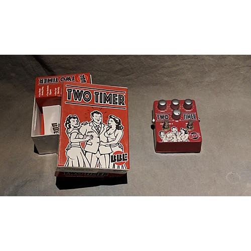 BBE Two Timer Dual Analog Delay Effect Pedal