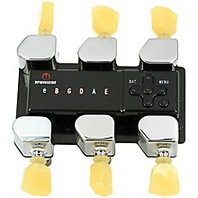Tronical Tuning Systems Type P Self Tuner for Ibanez Guitars Level 1 Vintage White Marbled Tulip Button