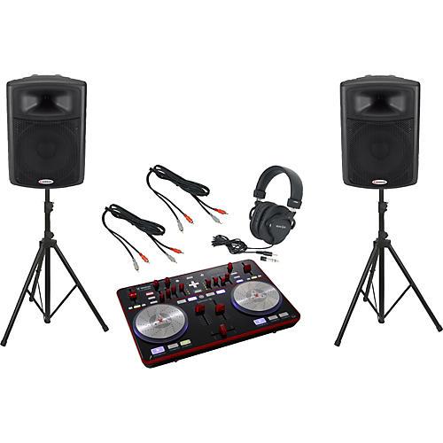 Vestax Typhoon / Harbinger APS15 DJ Package