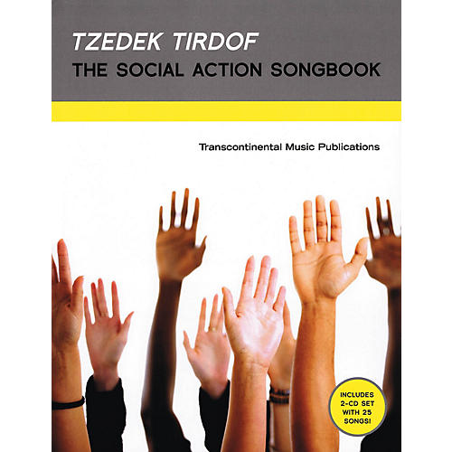 Transcontinental Music Tzedek Tirdof - The Social Action Songbook Transcontinental Music Folios Softcover with CD by Various