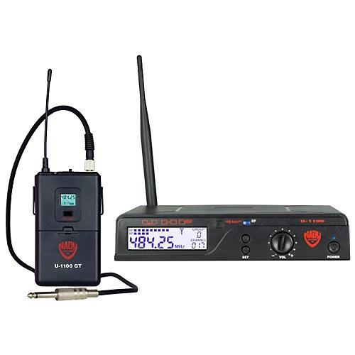 Nady U-1100 GT – 100 Channel UHF Wireless Guitar/Instrument System