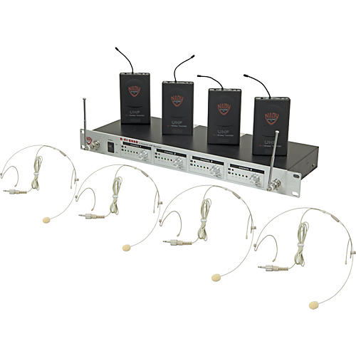 Nady U-41 Quad HM10 Headset Wireless System (14/16/10/12)
