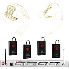 U-41 Quad HM20U Headset Wireless System (16/14/10/12 ) Level 2 Beige 190839844934