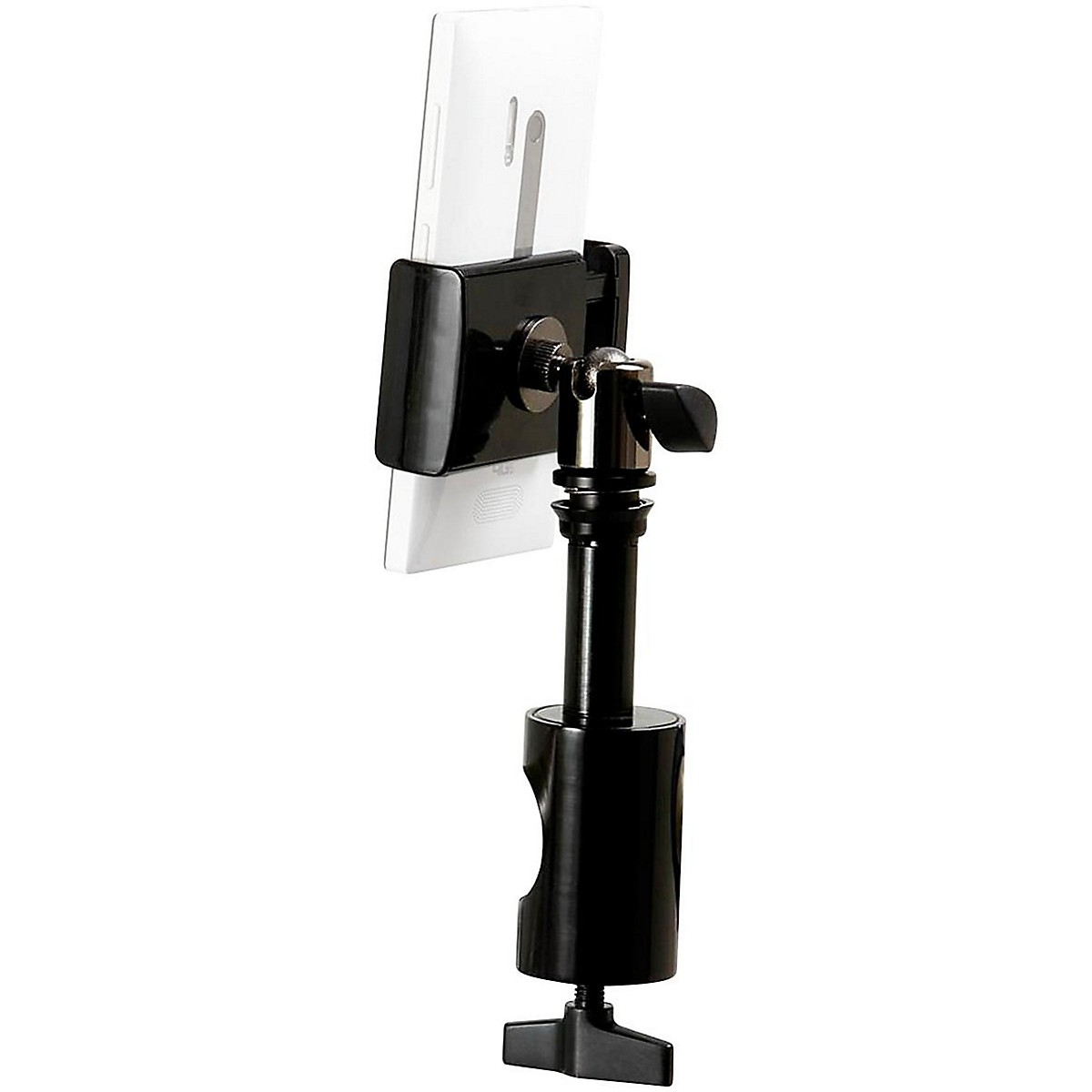 On-Stage U-Mount TCM1901 Grip-On Universal Device Holder with Round Clamp