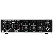 Behringer U-PHORIA UMC202HD Audiophile 2x2, 24-Bit/192 kHz USB Audio Interface Level 1