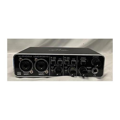 Behringer U-Phoria UMC202HD Audio Interface