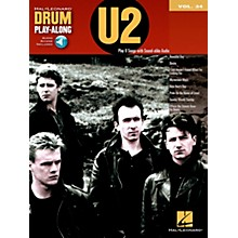 Hal Leonard U2 - Drum Play-Along Volume 34 Book/CD