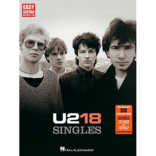 Hal Leonard U2 18 Singles - Easy Guitar With Tab