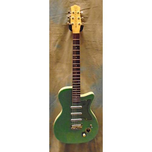 Danelectro U3 Green Sparkle Solid Body Electric Guitar