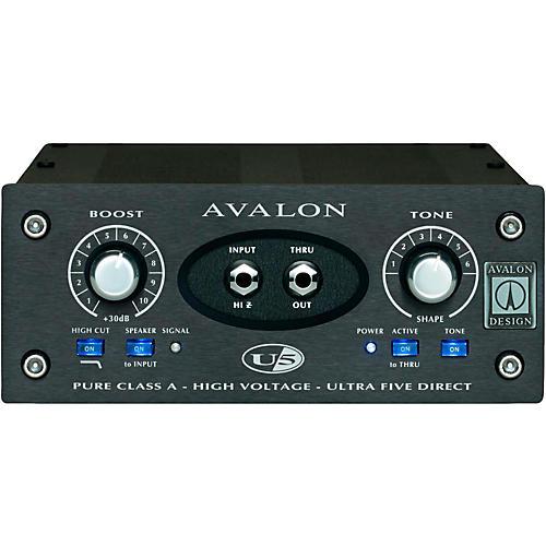 Avalon U5 Pure Class A Mono Instrument DI-Preamplifier