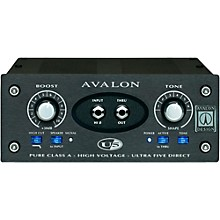 Avalon U5 Pure Class A Mono Instrument DI-Preamplifier Level 1 Black