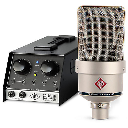 Universal Audio UA-S610 SOLO Vocal Chain Bundle with Neumann TLM 103 Anniversary Mic