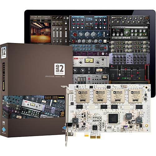 Universal Audio UAD-2 Quad Omni (v 5.7) DSP Accelerator Card with Omni Plug-In Bundle