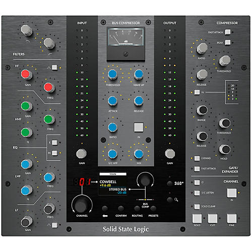 Solid State Logic UC1 Channel Strip and Bus Compressor Control Surface