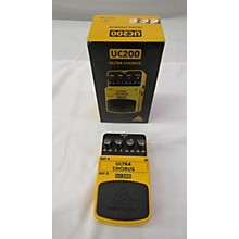 Behringer UC200 Stereo Chorus Effect Pedal
