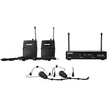 Gemini UHF-02HL 2-Channel Wireless Headset/Lavalier Combo System Level 1 S12