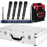 VocoPro UHF-5805 Plus Rechargeable Wireless System with Mic Bag Band 9
