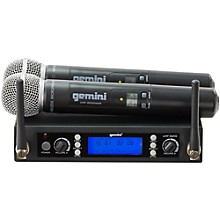 Gemini UHF-6200M Dual Handheld Wireless System Level 1