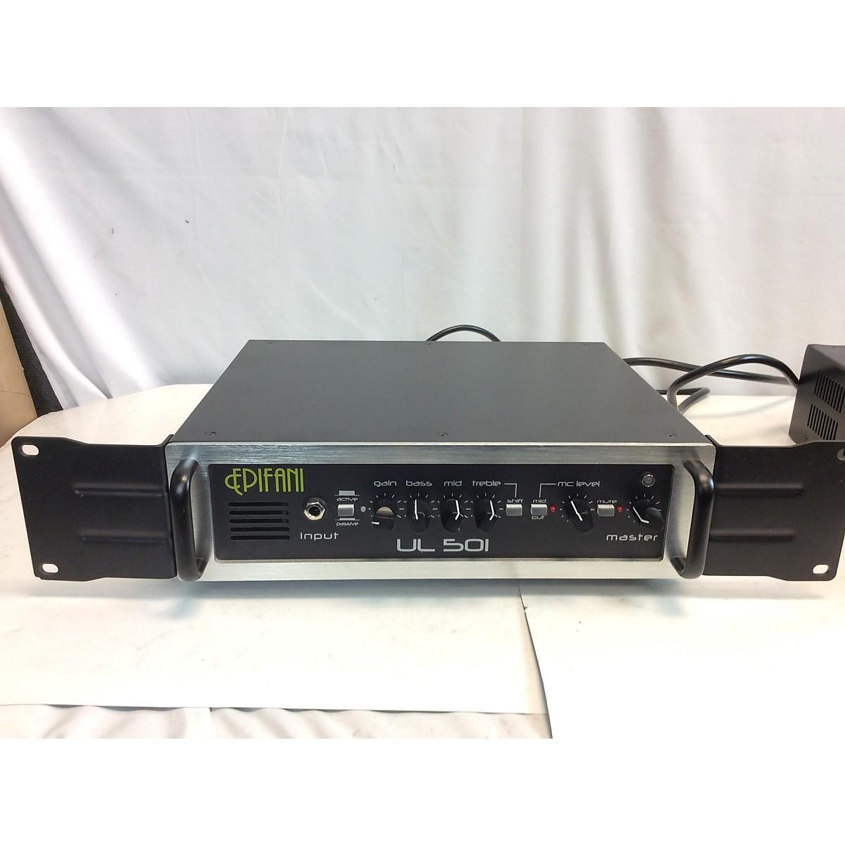 Epifani UL501 800W Bass Amp Head