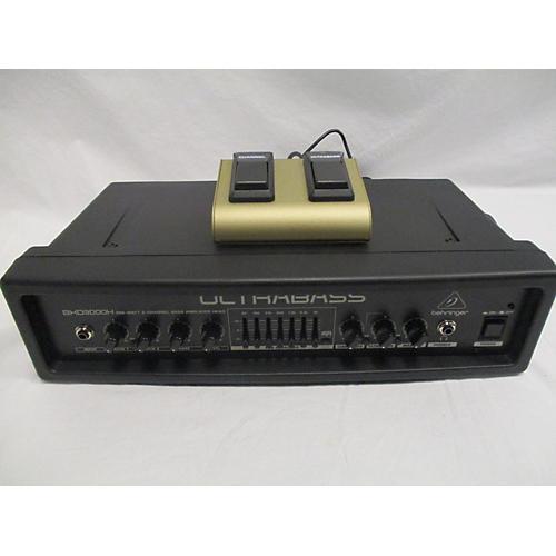 Behringer ULTRABASS BXD3000H 300W Bass Amp Head