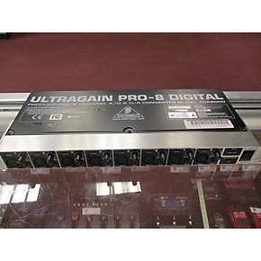 used behringer ultragain pro 8 ada8000 signal processor guitar center. Black Bedroom Furniture Sets. Home Design Ideas