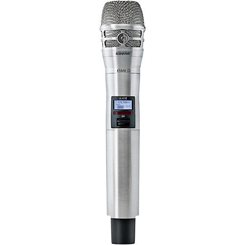 Shure ULXD2/K8N Handheld Transmitter with KSM8 Capsule in Nickel