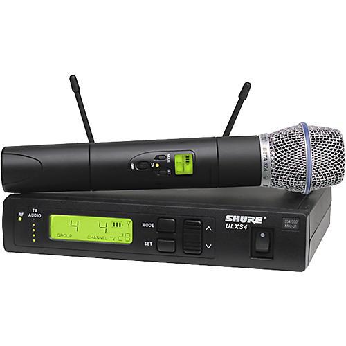 Shure ULXS Series/Beta 87A J1 Wireless Microphone System