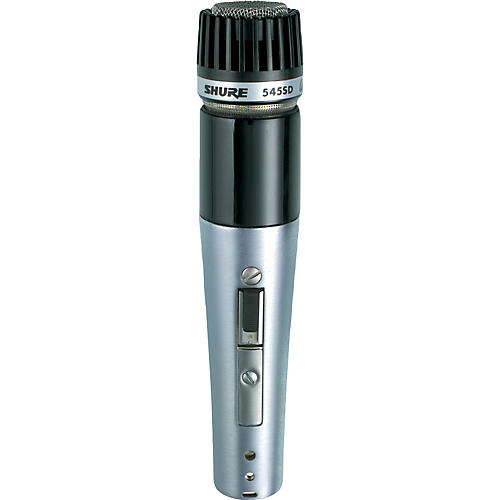 Shure UNIDYNE III 545SD-LC Dual Impedance Unidirectional Microphone