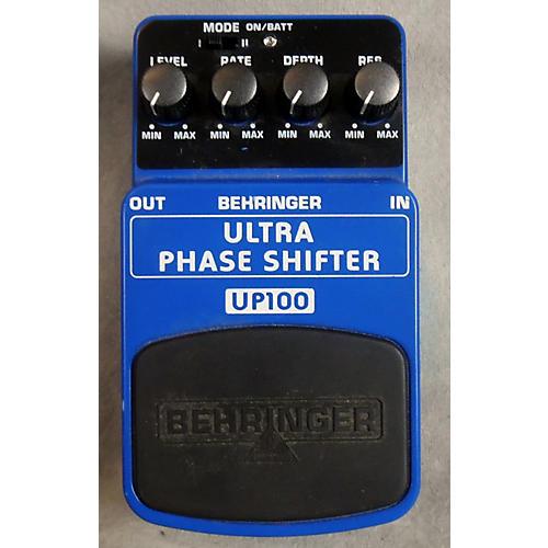 Behringer UP100 ULTRA PHASE SHIFTER Effect Pedal