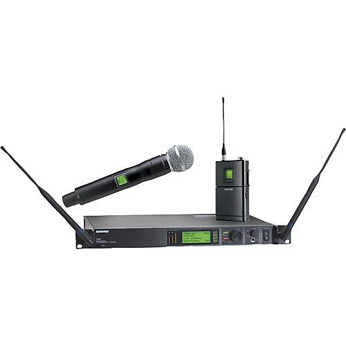 shure ur124s sm58 combo wireless instrument microphone system guitar center. Black Bedroom Furniture Sets. Home Design Ideas