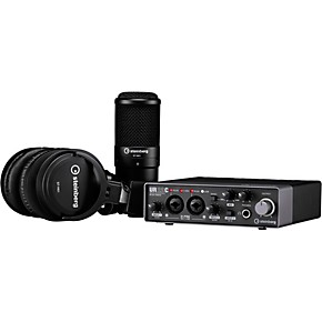 steinberg ur22c recording pack with 2in 2out usb 3 0 type c audio interface microphone. Black Bedroom Furniture Sets. Home Design Ideas