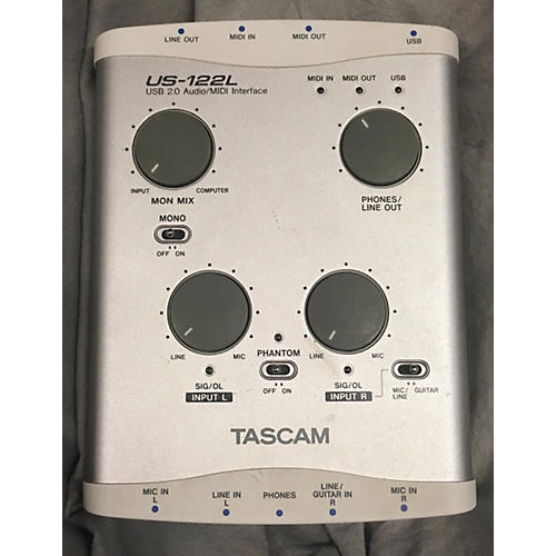 Tascam US 122L Audio Interface