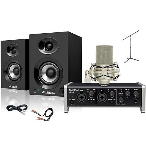 Tascam US-2x2 MXL 990 Elevate 3 Package