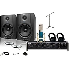 Tascam US-4x4 MXL 4000 and M Audio BX5 Recording Package 2