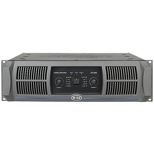 B-52 US-6000 2-Channel 1150W Power Amplifier