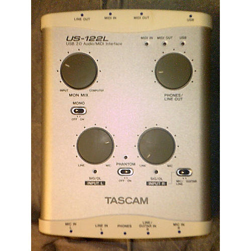Tascam US122L Audio Interface