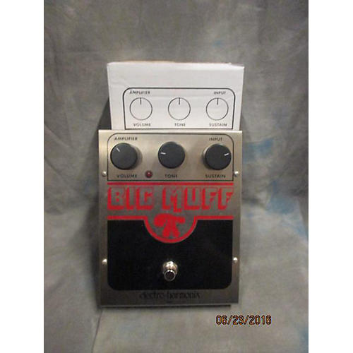 Electro-Harmonix USA Big Muff Distortion Effect Pedal