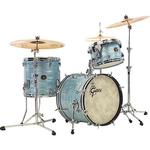 gretsch drums usa custom qd 3 piece jazz drum shell pack sky blue pearl guitar center. Black Bedroom Furniture Sets. Home Design Ideas