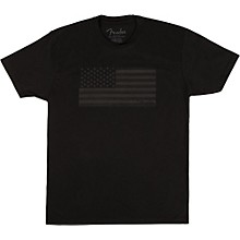 Fender USA Flag Blackout T-shirt