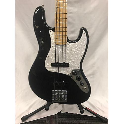 used fender usa geddy lee signature jazz bass electric bass guitar black guitar center. Black Bedroom Furniture Sets. Home Design Ideas