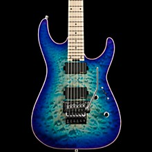 ESP USA M-II FR Electric Guitar Violet Blue Burst