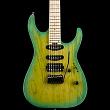ESP USA M-III 2 PT Electric Guitar Green Burst