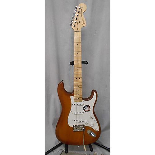 Fender USA Nitro Satin Strat Honey Burst Solid Body Electric Guitar