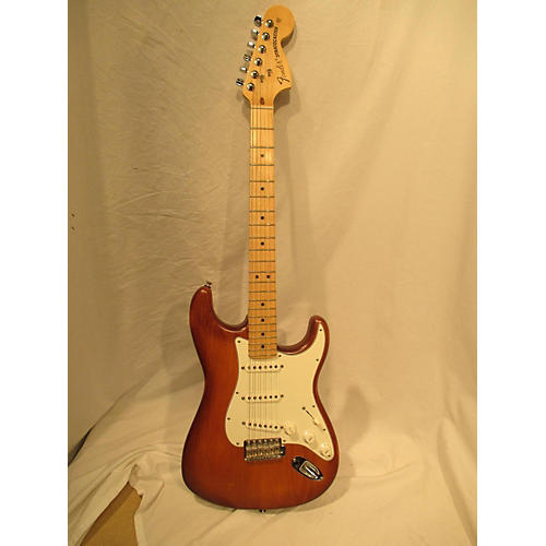 Fender USA Nitro Satin Stratocaster Solid Body Electric Guitar