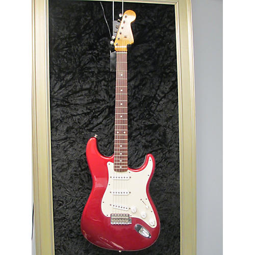 Fender USA PARTS 62 REISSUE STRAT Red Solid Body Electric Guitar