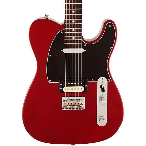fender usa professional telecaster hs electric guitar transparent crimson red rosewood guitar. Black Bedroom Furniture Sets. Home Design Ideas