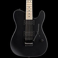 Charvel USA Select San Dimas HH Floyd Rose Maple Fingerboard Electric Guitar Pitch Black